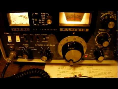 Yaesu FT-101 SSB output problems