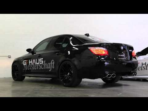 E60 BMW M5 with Meisterschaft GTC Exhaust (with Section 1+2)