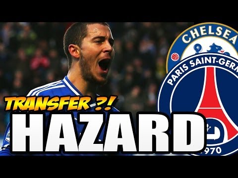 EDEN HAZARD zu PARIS SAINT GERMAIN für 73 MILLIONEN ? - TRANSFER TALK 2014 [DEUTSCH]