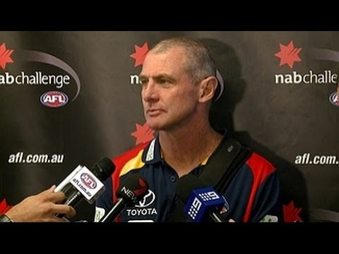 Walsh post-match: NAB 1