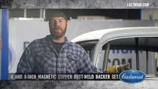 Plug Welding Holes in Sheet Metal with Magnetic Copper Backers - Mike Finnegan at Hot Rod - Eastwood