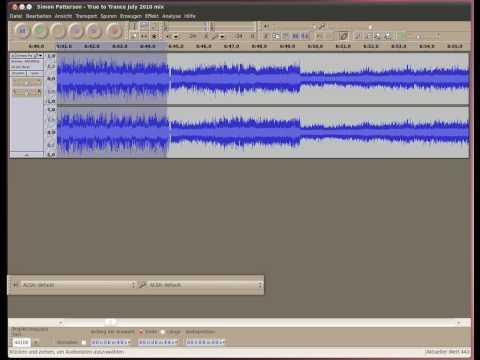 Аудио редакторы под ubuntu linux - audacity и xcfa