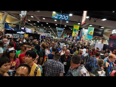 Comic-Con 2015 Show Floor Tour (in a Single Take!)