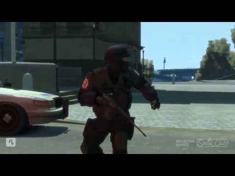 Gta Iv   Old Lady Super Pissing Off :cutted By Me video