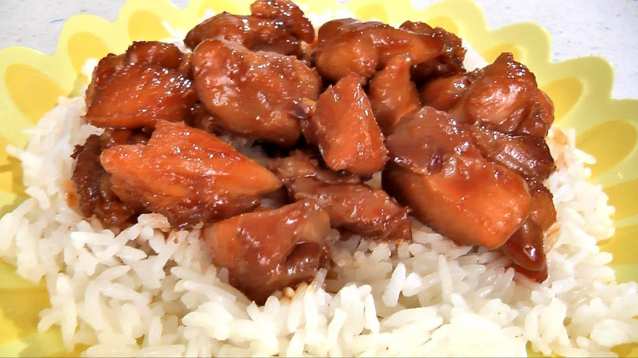 Bourbon Chicken Recipe - Amy's Cooking Channel - YouTube
