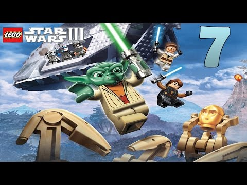 Zagrajmy w Lego Star Wars 3 Wojny Klonów odc.7 Grievous Pokonany