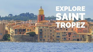 A Day in SAINT TROPEZ / feat. Pampelonne Beach / French Riviera