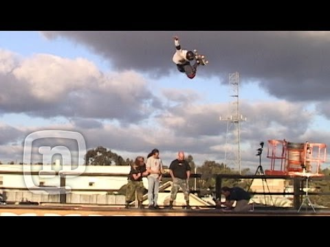 Slayer Skateboarding Danny Way & Jake Brown DC Super Ramp 2002: Raw N' Real