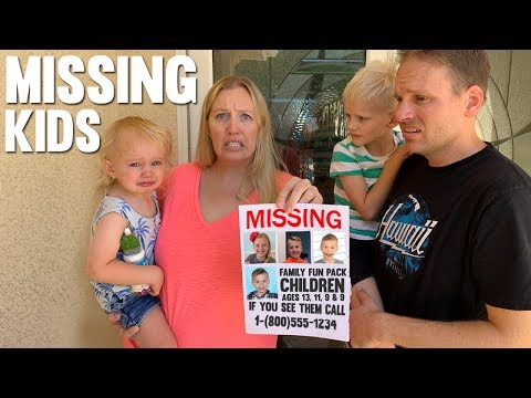 24 Hours with 6 Kids - 4 Missing!!