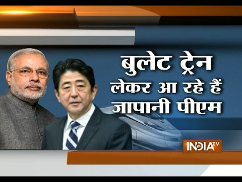 Japan's Bid for First Bullet Train Ahead of Shinzo Abe Trip to India
