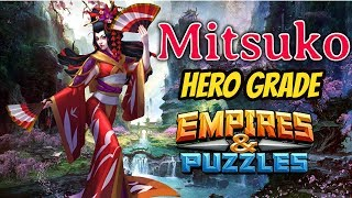 Mitsuko: Empires and Puzzles Hero Grade Atlantis Season 2 Summon