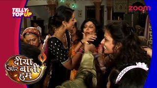 Celebrations On The Sets Of 'Diya Aur Baati Hum' | #TellyTopUp