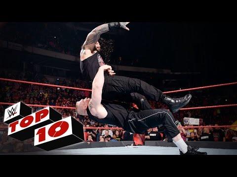 Top 10 Raw moments: WWE Top 10, Jan. 16, 2017