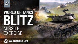 WoT Blitz. 4.1 Event: Missile Exercise. T49 ATM. KpfPz 70