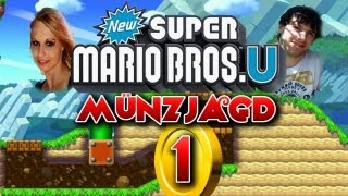 New Super Mario Bros U Münzjagd Münz-Level 1 + Münzeditor