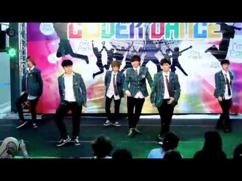 141108 Phoenix cover EXO - Dubstep Intro + Growl @I'm Park Cover Dance (Audition)