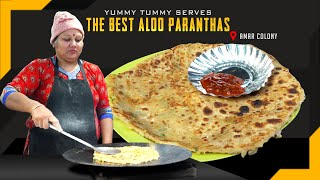 Best Aloo Paranthas in Amar Colony l NEW DELHI l INDIAN STREET FOOD