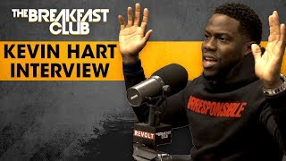 Kevin Hart Lives His Truth And Opens Up About Being Irresponsible And More