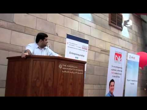 Startup Weekend Cairo - N2v Ceo Speech video