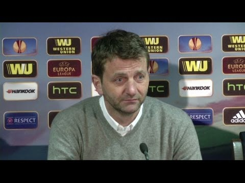 'Benfica were better than us', says Sherwood [AMBIENT]