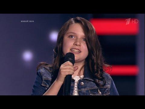 The Voice Kids Russia 2016. Anna (Анна Будкова) — «В лунном сиянии». Голос Дети 3