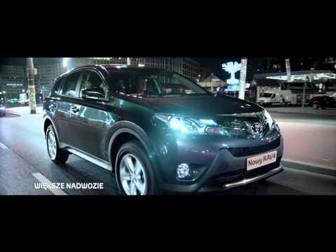 Nowa większa Toyota RAV4