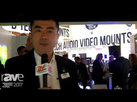 ISE 2017: Vivitek Showcases New WXGA Dual-Lamp Projector With HDBaseT and 6500 Lumens Brightness