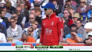 2nd NatWest Series International ODI -- Australia innings