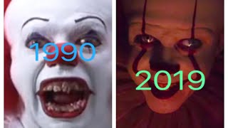 Evolution Of Pennywise In It Movies 1990-2019