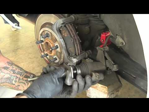 How To Change Ford Mustang Rear Brakes 2005 2006 2007 DIY