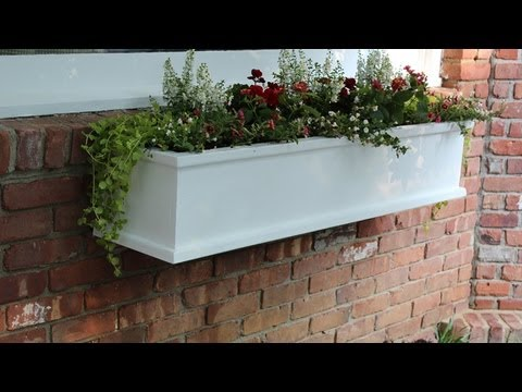 how to build a flower window box by jon peters youtube. Black Bedroom Furniture Sets. Home Design Ideas