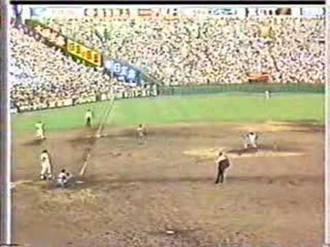 1984年全国高校野球(甲子園)取手二VSPL学園