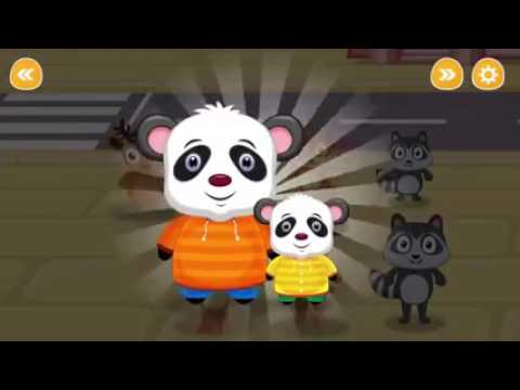 Travel Safety Tips For Kids Baby Panda Games For Kids Traffic Safety