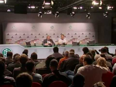 FIFA World Cup 2010 - Germany vs Argentina - Schweinsteiger and Mueller interview