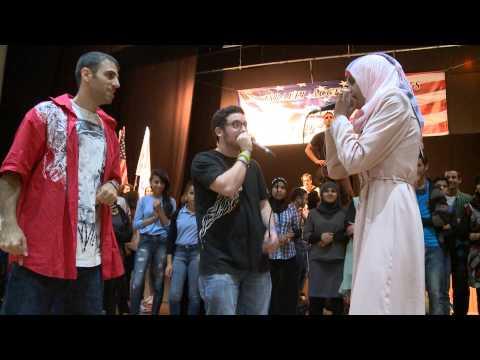 Flash Mob Dance With Arab And Jewish Israeli Students video