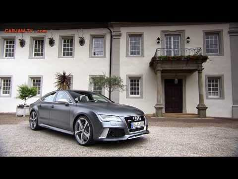 2014 Audi RS 7 HD Sportback Quattro Commercial Carjam TV HD Car TV Show 2013