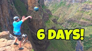We Spent 6 Days Attempting a 200m Basketball Shot in Lesotho, Africa