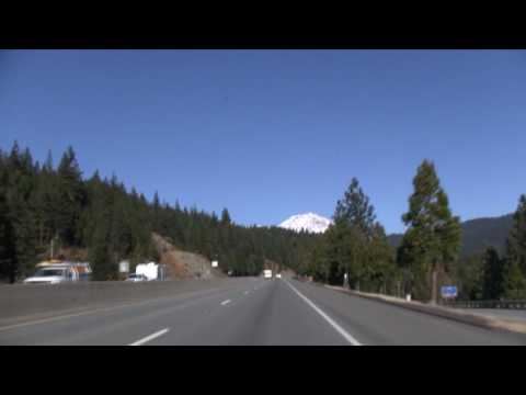 I-5 North (CA), Mt. Shasta & Black Butte Mountain, Exit 714 To Exit 747