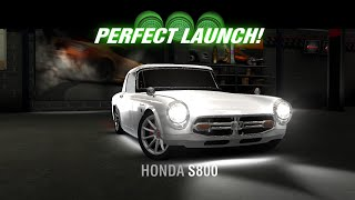 Racing Rivals Honda S800 Perfect Launch Tutorial