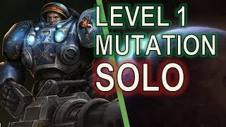 Starcraft II: Tychus Level 1 Mutation Solo. I may have gone completely bonkers.