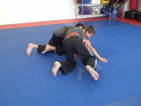 Mat Grappling - Great BJJ Kid's Game Image 1