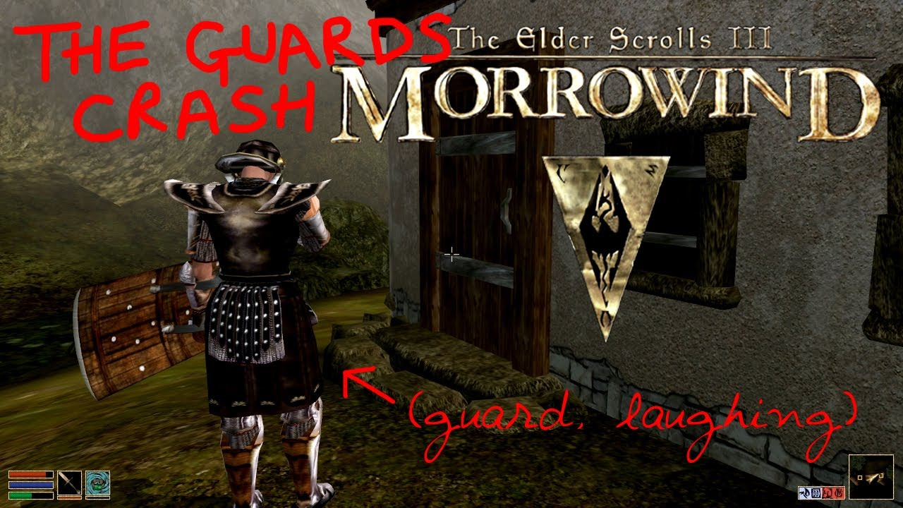 Guard Morrowind Morrowind Test Guards Arrest
