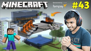 ULTRA GIANT AUTOMATIC STONE FARM | MINECRAFT GAMEPLAY #43