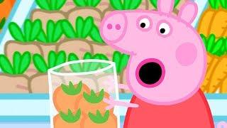 Peppa Pig Nederlands Compilatie Nieuwe Afleveringen 🍅 Boodschappen doen 🍅 Tekenfilm | Peppa de Big