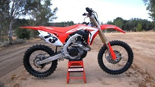 First Ride 2019 Honda CRF450R - Motocross Action Magazine