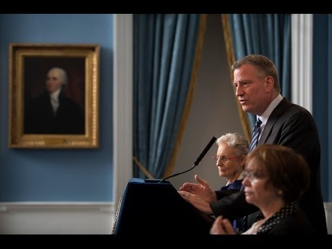 Mayor Bill de Blasio Releases Preliminary Myls Dobson Report