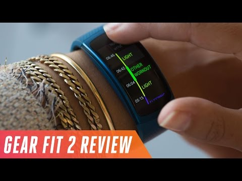 Samsung Gear Fit 2 activity tracking review