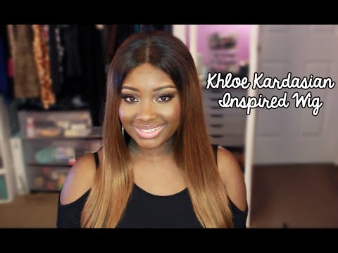 Quickie Review | Khloe Kardashian Inspired Glueless Full Lace Wig (Best Lace Wigs)