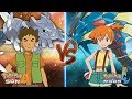 Pokemon Sun and Moon: Brock Vs Misty (Mega Steelix Vs Mega Gyarados)