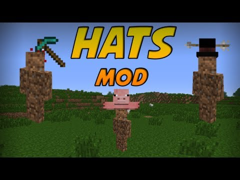 Minecraft Mods - Hats Mod! 70+ Hats! [1.5.1]